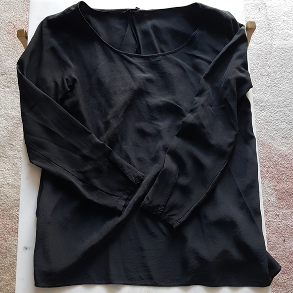 Club Monaco Silk Blouse